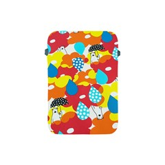Bear Umbrella Apple iPad Mini Protective Soft Cases