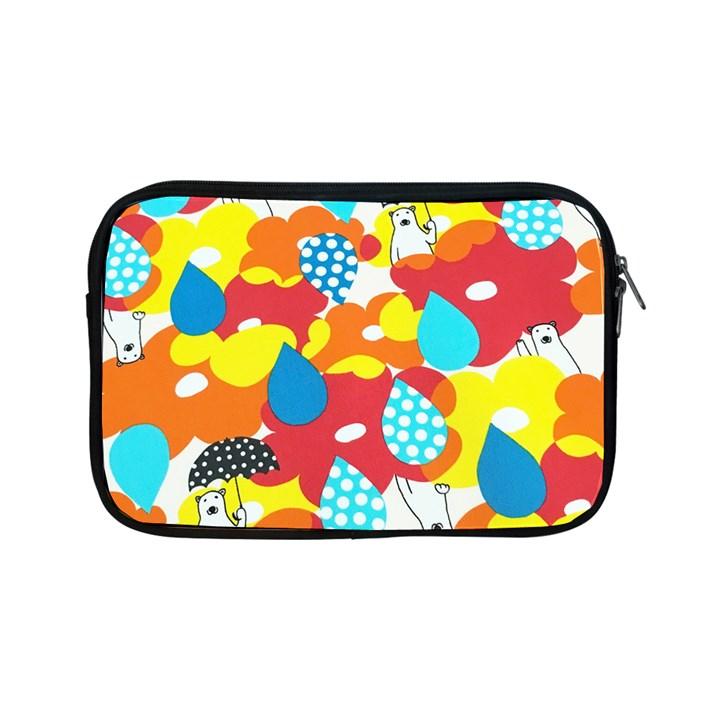 Bear Umbrella Apple iPad Mini Zipper Cases