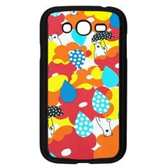 Bear Umbrella Samsung Galaxy Grand DUOS I9082 Case (Black)