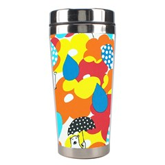 Bear Umbrella Stainless Steel Travel Tumblers