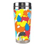 Bear Umbrella Stainless Steel Travel Tumblers Left