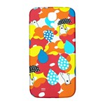 Bear Umbrella Samsung Galaxy S4 I9500/I9505  Hardshell Back Case Front