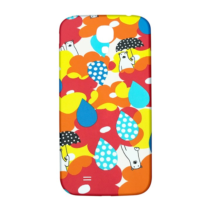 Bear Umbrella Samsung Galaxy S4 I9500/I9505  Hardshell Back Case