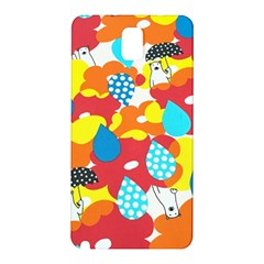 Bear Umbrella Samsung Galaxy Note 3 N9005 Hardshell Back Case