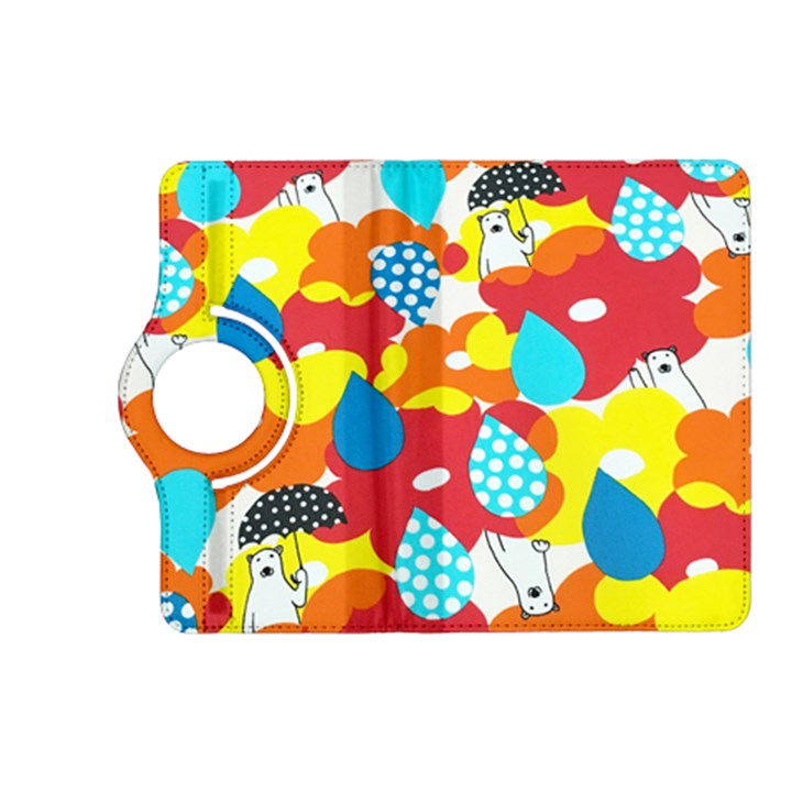 Bear Umbrella Kindle Fire HD (2013) Flip 360 Case