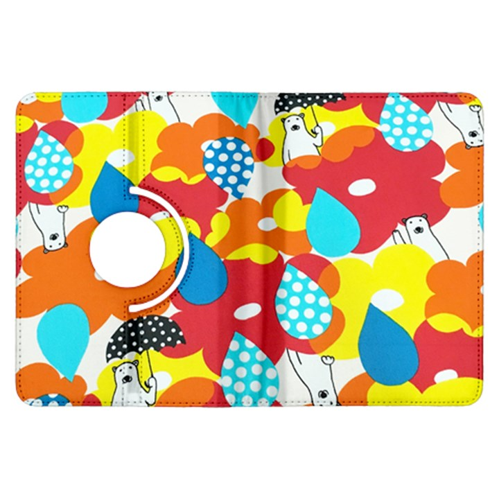 Bear Umbrella Kindle Fire HDX Flip 360 Case
