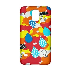 Bear Umbrella Samsung Galaxy S5 Hardshell Case