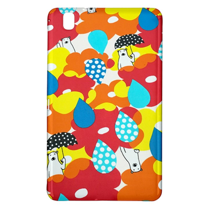 Bear Umbrella Samsung Galaxy Tab Pro 8.4 Hardshell Case