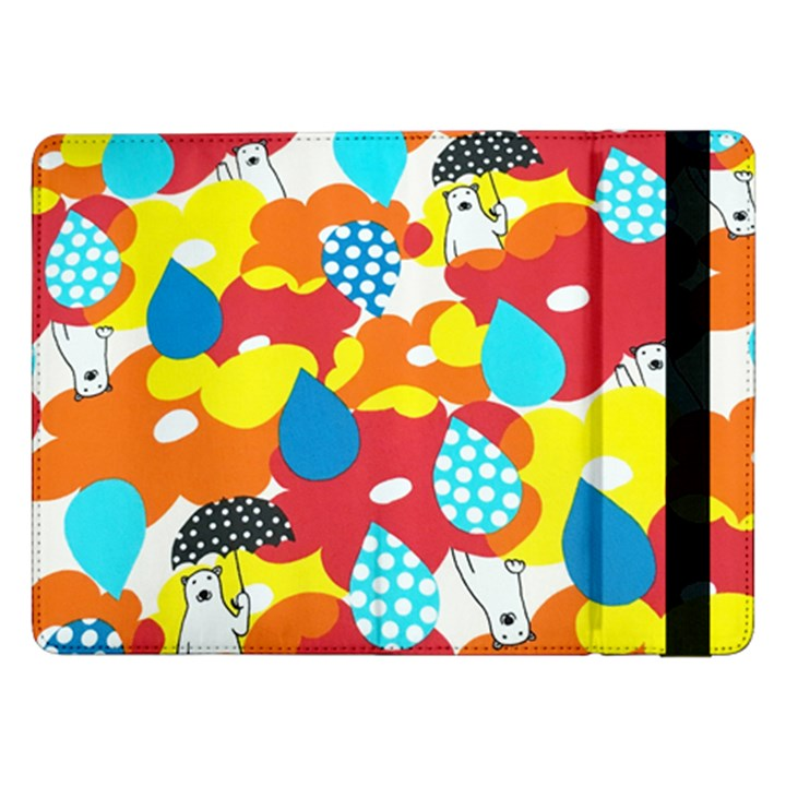 Bear Umbrella Samsung Galaxy Tab Pro 12.2  Flip Case