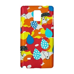 Bear Umbrella Samsung Galaxy Note 4 Hardshell Case