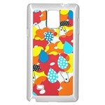 Bear Umbrella Samsung Galaxy Note 4 Case (White) Front