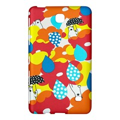 Bear Umbrella Samsung Galaxy Tab 4 (7 ) Hardshell Case