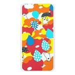 Bear Umbrella Apple Seamless iPhone 6 Plus/6S Plus Case (Transparent) Front