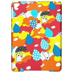 Bear Umbrella Apple Ipad Pro 9 7   Hardshell Case