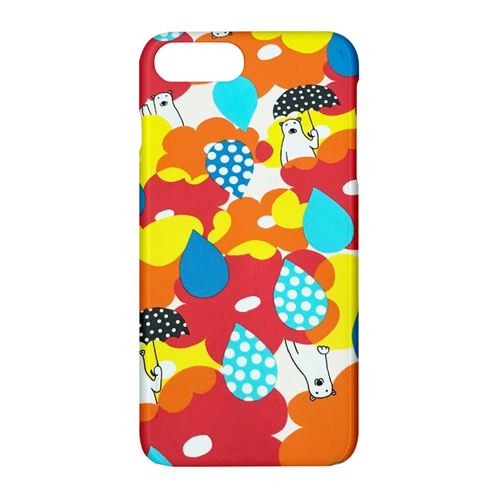 Bear Umbrella Apple iPhone 7 Plus Hardshell Case