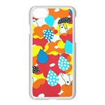 Bear Umbrella Apple iPhone 7 Seamless Case (White) Front