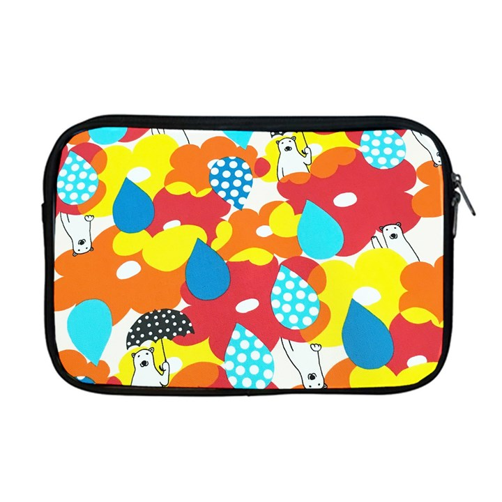 Bear Umbrella Apple MacBook Pro 17  Zipper Case