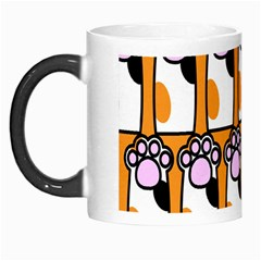 Cute Cat Hand Orange Morph Mugs