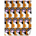 Cute Cat Hand Orange Canvas 12  x 16   16 x12 Canvas - 1
