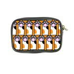 Cute Cat Hand Orange Coin Purse Back