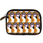 Cute Cat Hand Orange Digital Camera Cases Front