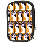 Cute Cat Hand Orange Compact Camera Cases Front