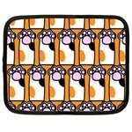 Cute Cat Hand Orange Netbook Case (XXL)  Front