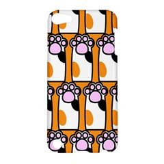 Cute Cat Hand Orange Apple iPod Touch 5 Hardshell Case