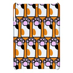 Cute Cat Hand Orange Apple iPad Mini Hardshell Case