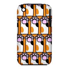 Cute Cat Hand Orange iPhone 3S/3GS
