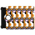 Cute Cat Hand Orange Kindle Fire HD 7  Front