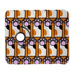 Cute Cat Hand Orange Galaxy S3 (Flip/Folio) Front