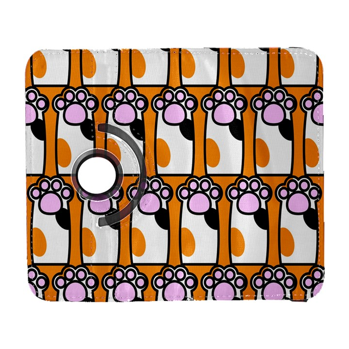 Cute Cat Hand Orange Galaxy S3 (Flip/Folio)