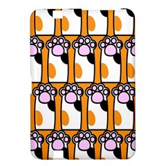 Cute Cat Hand Orange Kindle Fire HD 8.9