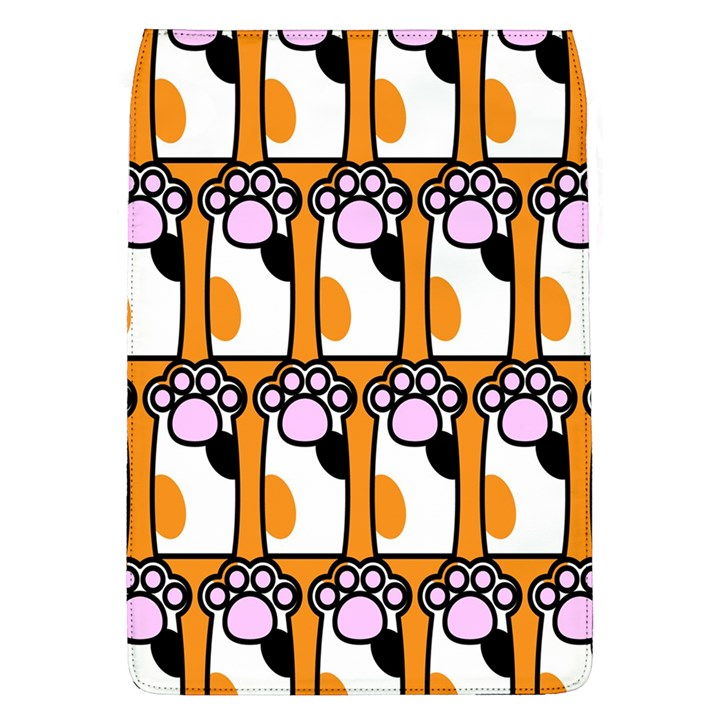 Cute Cat Hand Orange Flap Covers (L)