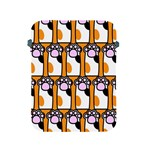 Cute Cat Hand Orange Apple iPad 2/3/4 Protective Soft Cases Front
