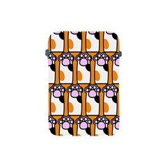 Cute Cat Hand Orange Apple iPad Mini Protective Soft Cases