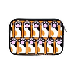 Cute Cat Hand Orange Apple iPad Mini Zipper Cases