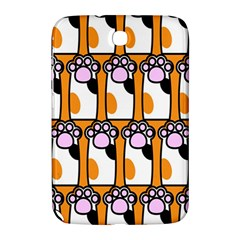 Cute Cat Hand Orange Samsung Galaxy Note 8.0 N5100 Hardshell Case