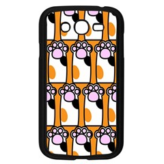 Cute Cat Hand Orange Samsung Galaxy Grand Duos I9082 Case (black)
