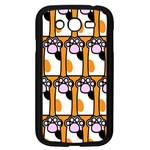 Cute Cat Hand Orange Samsung Galaxy Grand DUOS I9082 Case (Black) Front
