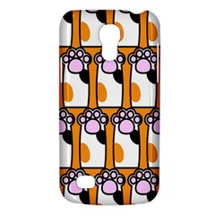 Cute Cat Hand Orange Galaxy S4 Mini