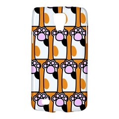 Cute Cat Hand Orange Galaxy S4 Active
