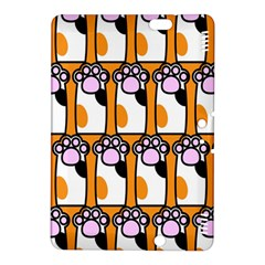 Cute Cat Hand Orange Kindle Fire HDX 8.9  Hardshell Case