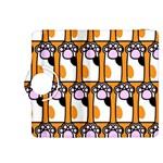 Cute Cat Hand Orange Kindle Fire HDX 8.9  Flip 360 Case Front