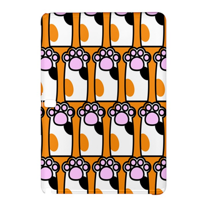 Cute Cat Hand Orange Samsung Galaxy Tab Pro 10.1 Hardshell Case