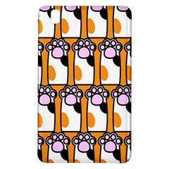 Cute Cat Hand Orange Samsung Galaxy Tab Pro 8.4 Hardshell Case