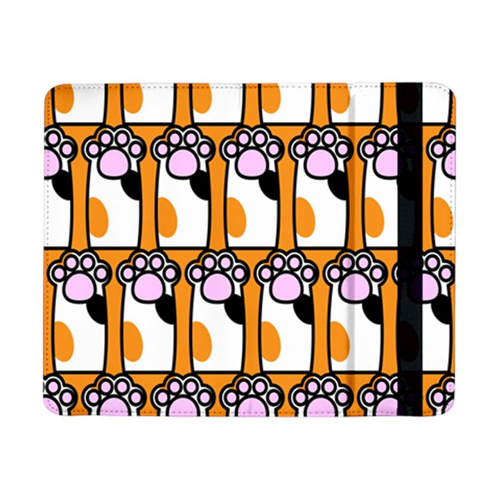 Cute Cat Hand Orange Samsung Galaxy Tab Pro 8.4  Flip Case