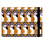 Cute Cat Hand Orange Samsung Galaxy Tab Pro 12.2  Flip Case Front