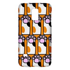 Cute Cat Hand Orange Galaxy S5 Mini